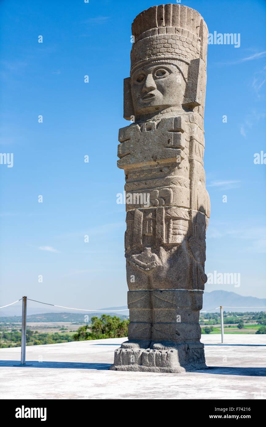 Giant of Tula (Atlantes de Tula) - Stock Image