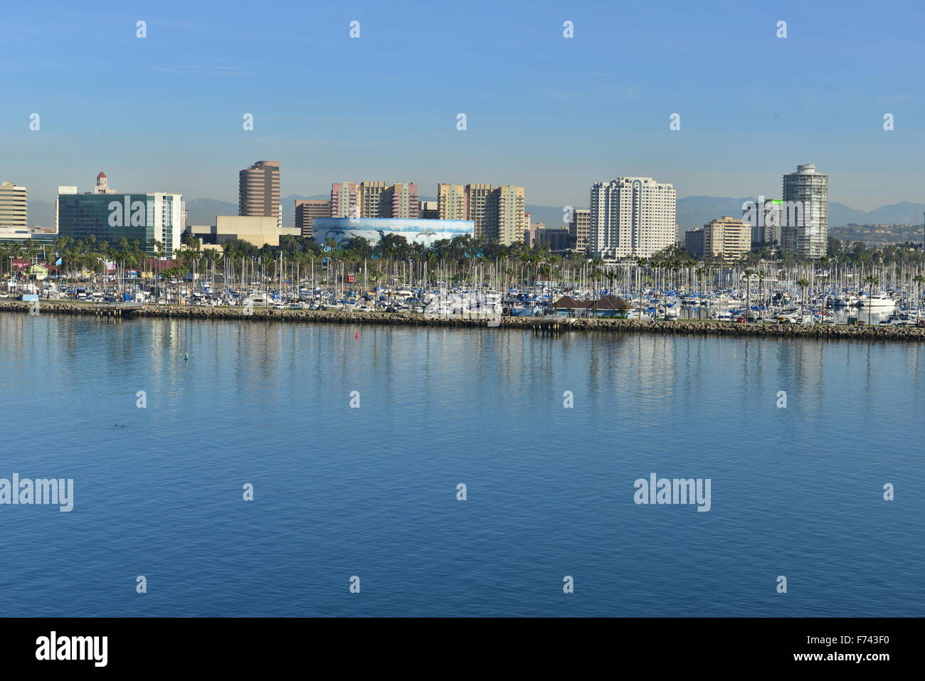 The Skyline Of San Diego On A Sunny November Day In 2015