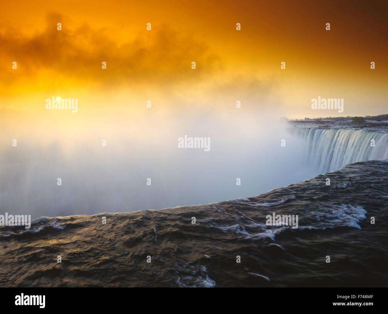 North America, Canada, Ontario, Niagara Falls - Stock Image