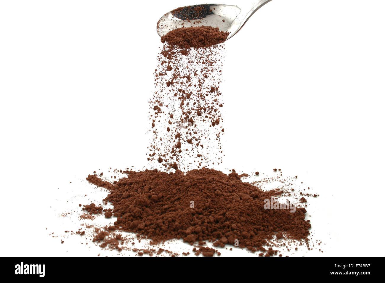 Cocoa powder - Stock Image