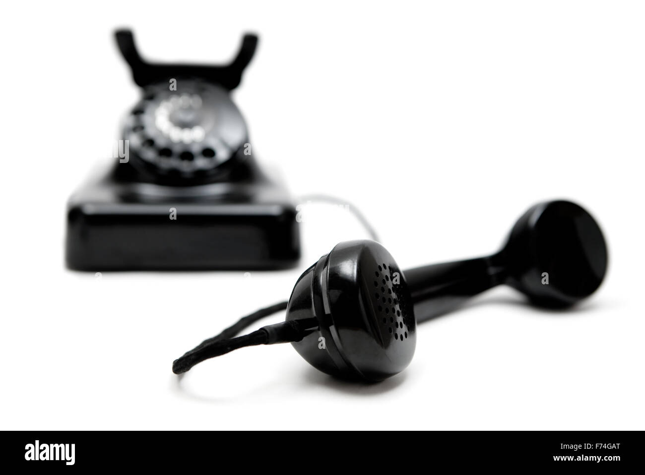 Vintage Telephone - Stock Image