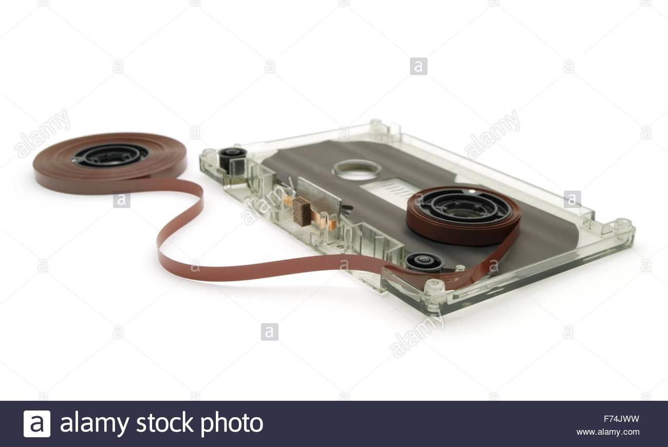 Audiotape - Stock Image