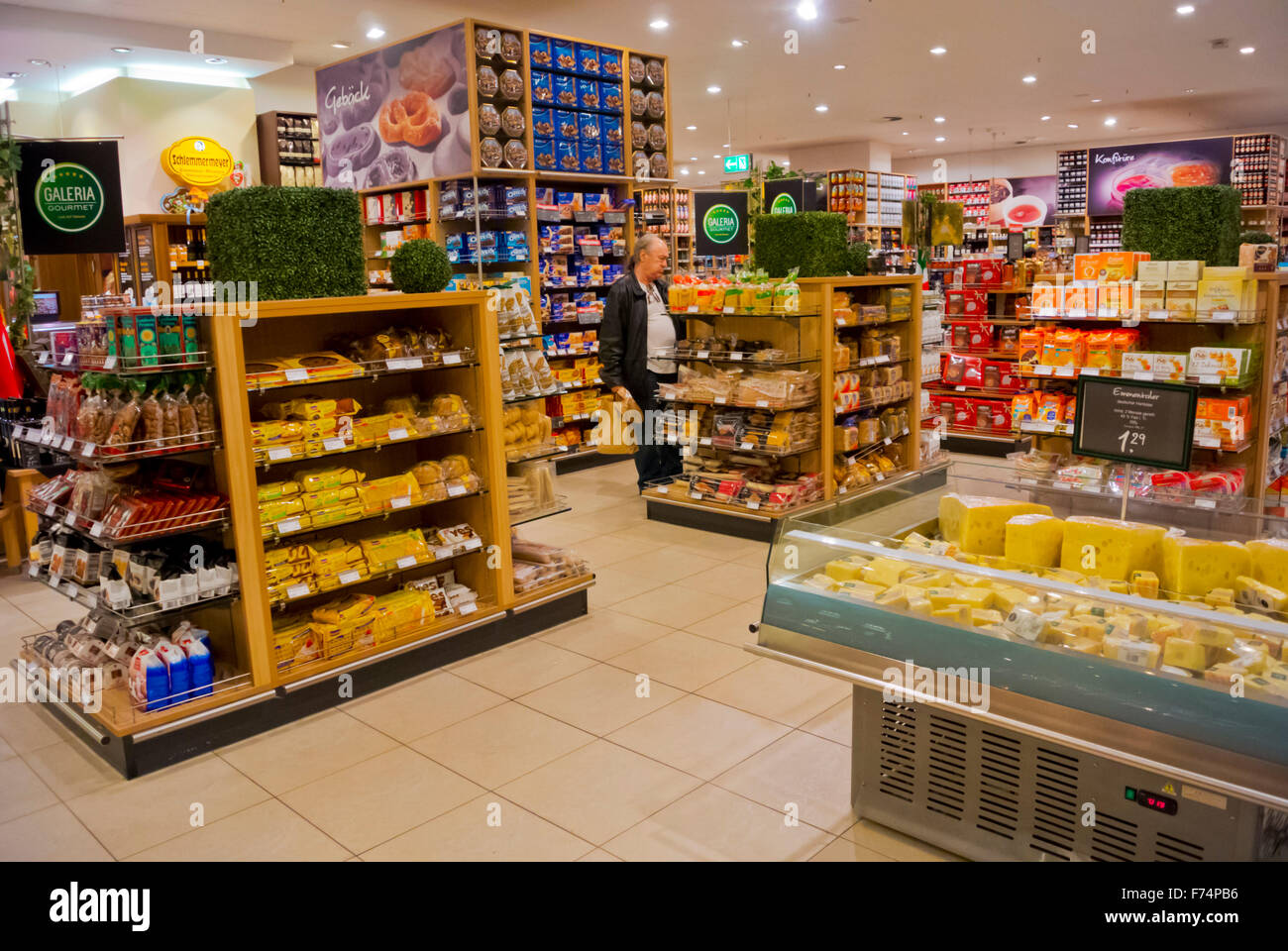 supermarket galeria kaufhof alexanderplatz berlin germany stock photo 90459802 alamy. Black Bedroom Furniture Sets. Home Design Ideas