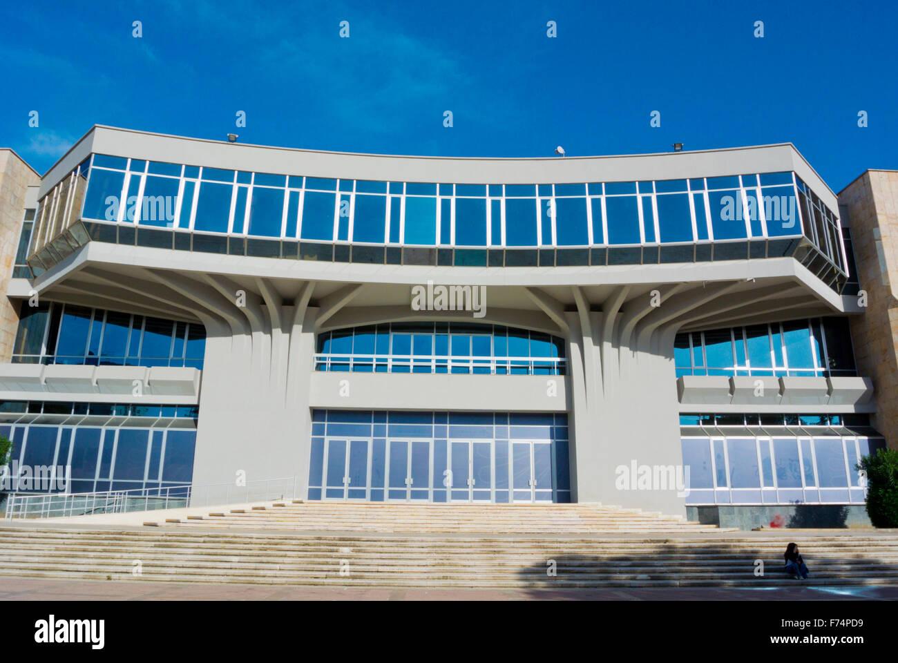 Pallati i Kongreseve,  Palace of Congresses, Tirana, Albania - Stock Image
