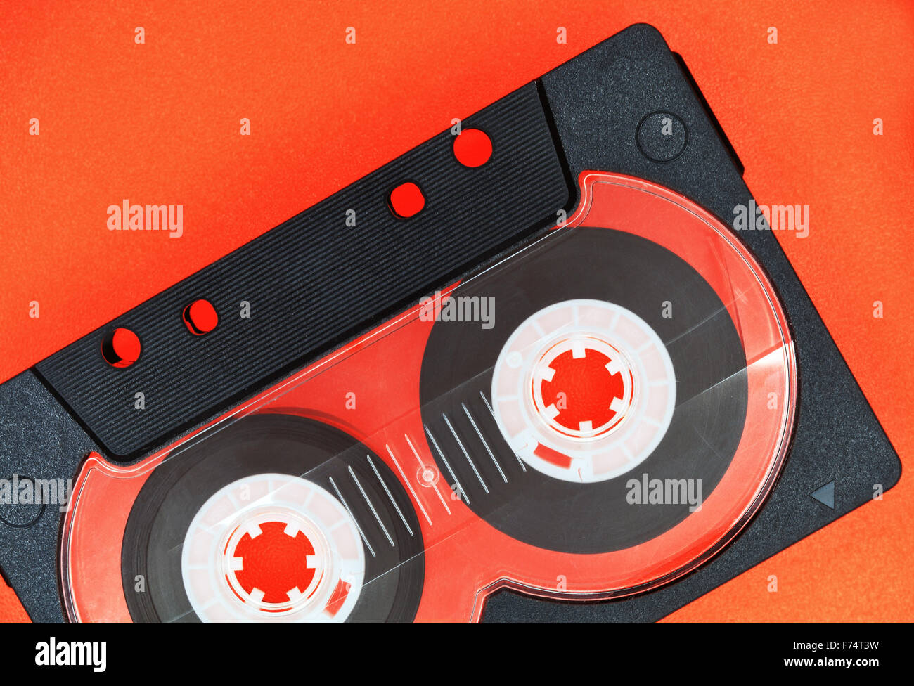 Compact cassette - Stock Image