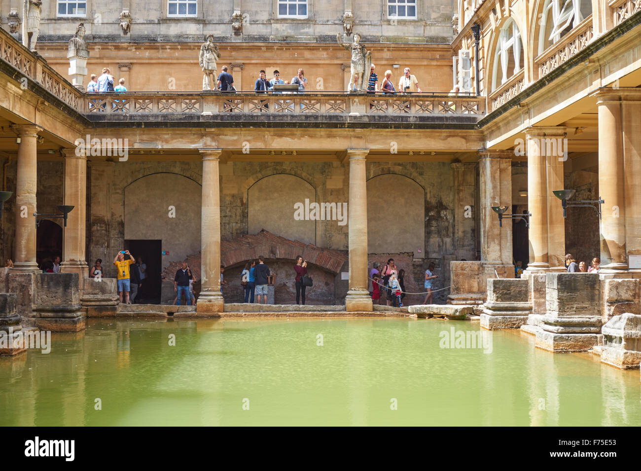 Roman Baths Bath Uk Stock Photos & Roman Baths Bath Uk Stock Images ...