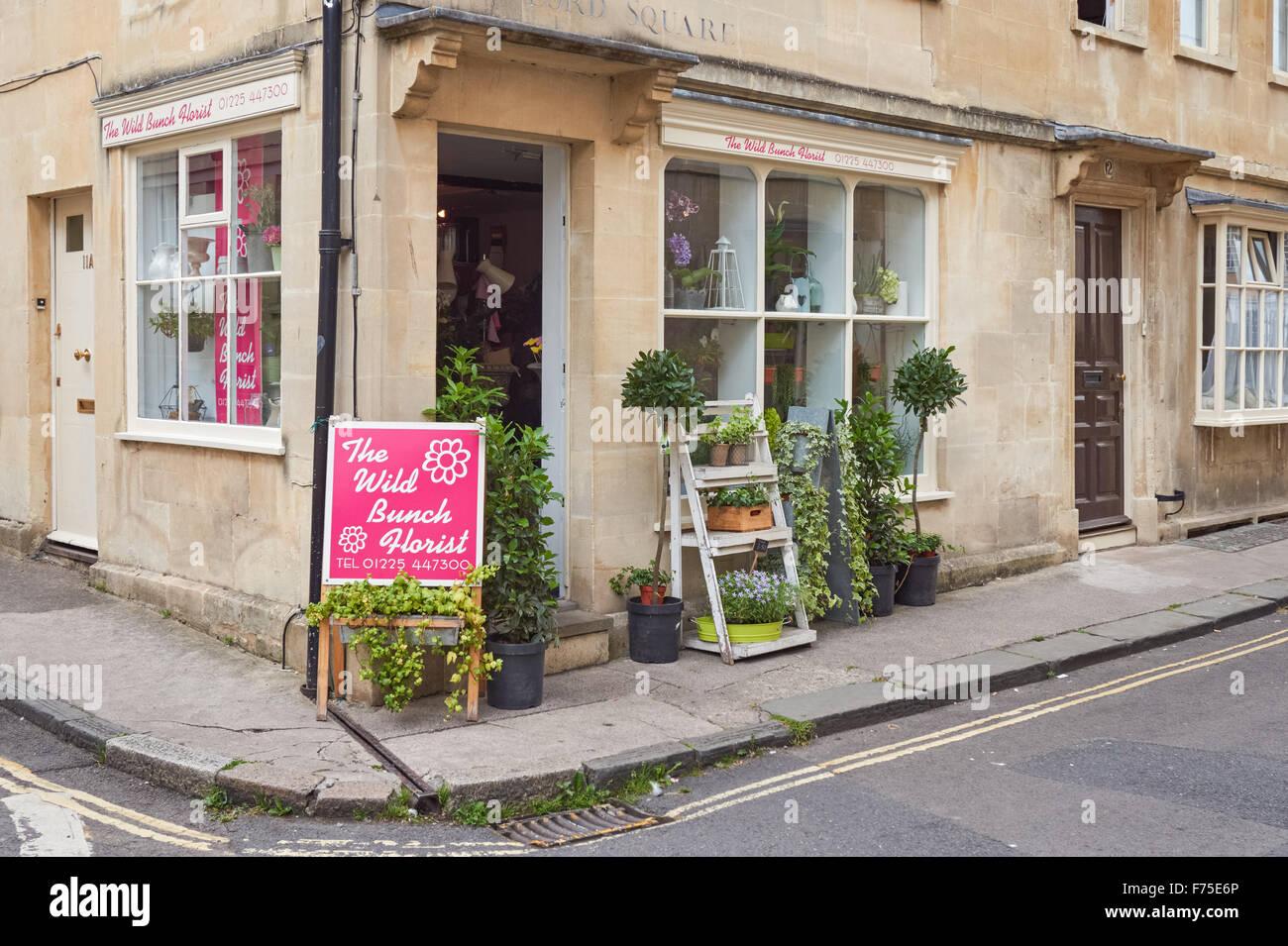 265fd4d6cd23 Flower shop in Bath Somerset England United Kingdom UK Stock Photo ...
