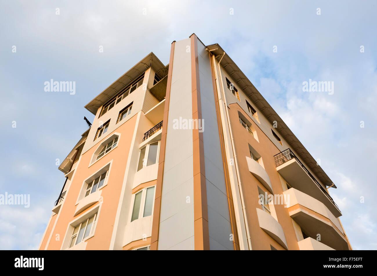 residental building - Stock Image