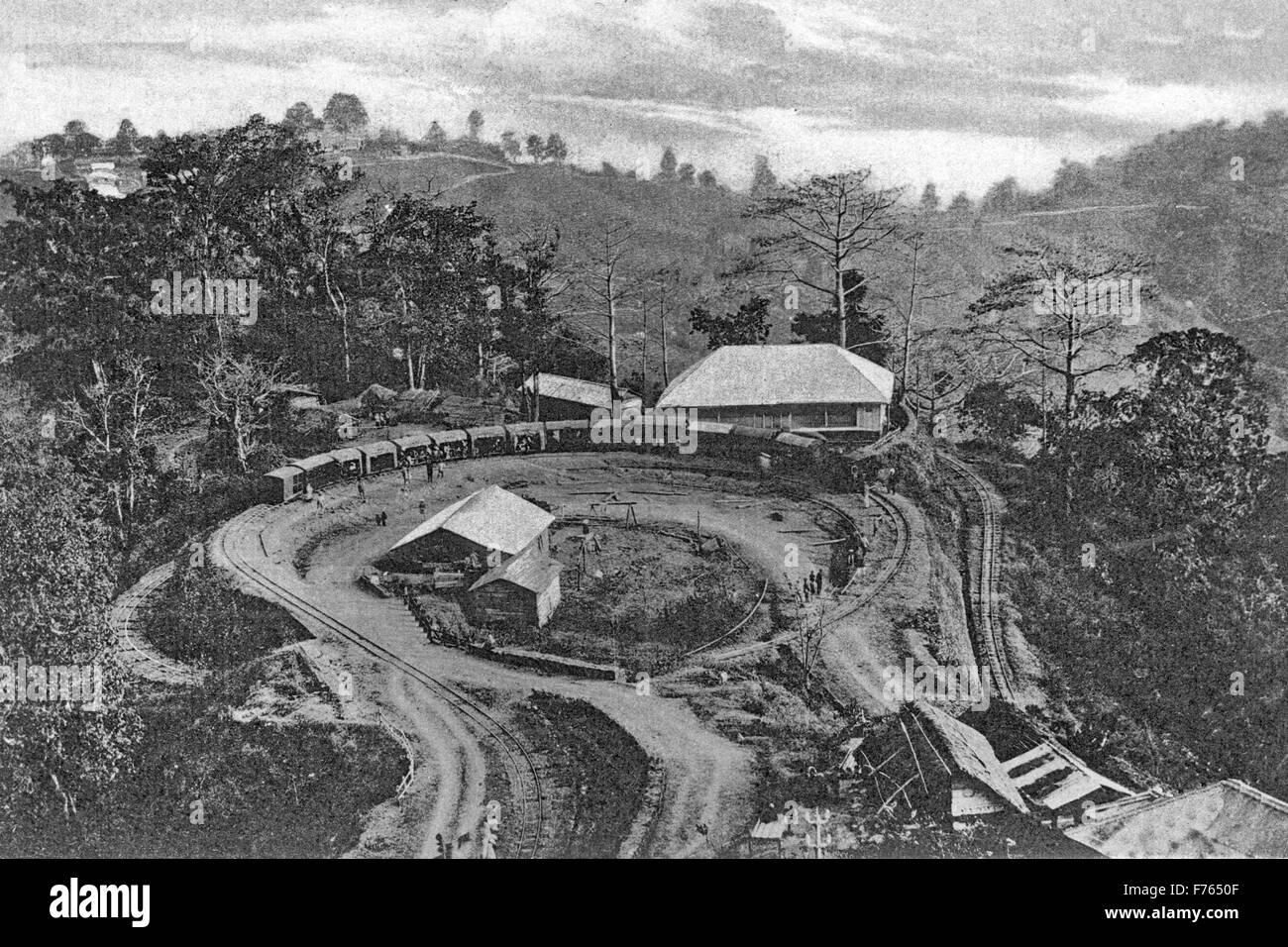 Batasia loop, darjeeling, west bengal, india, asia - Stock Image