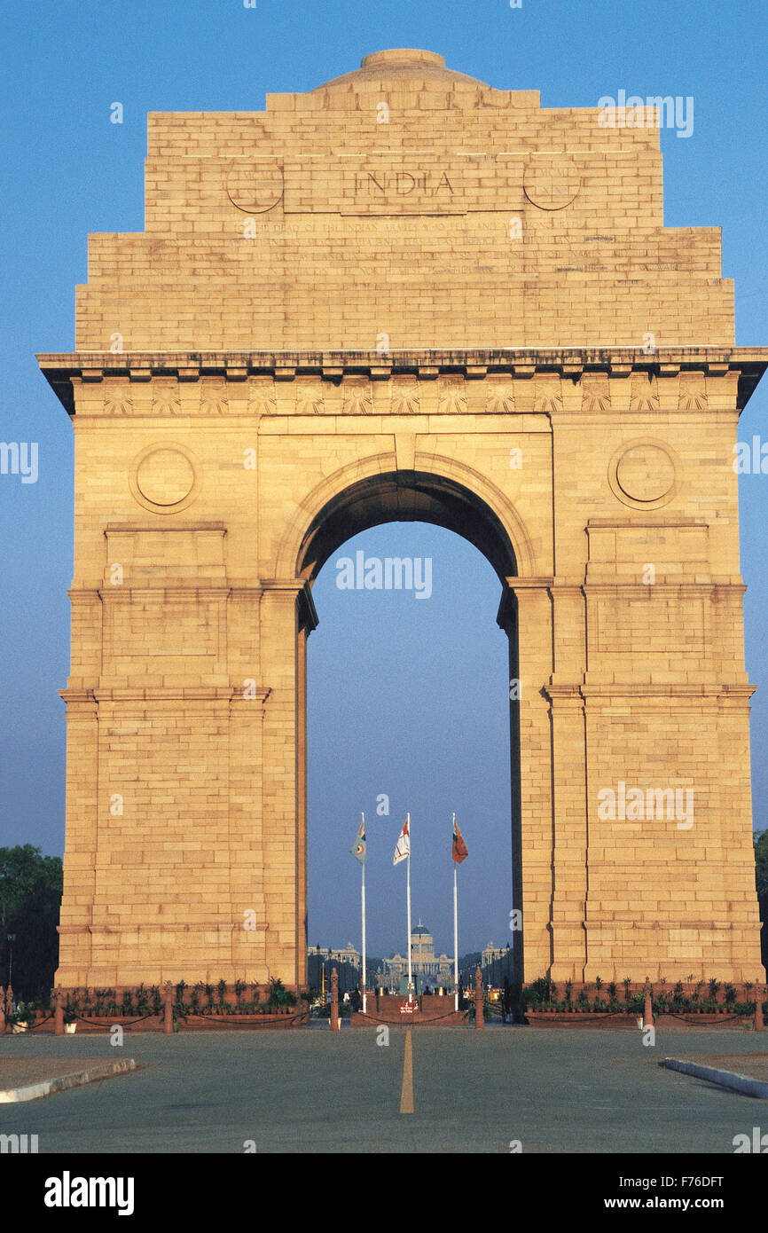 delhi india gate stock photos delhi india gate stock images alamy. Black Bedroom Furniture Sets. Home Design Ideas