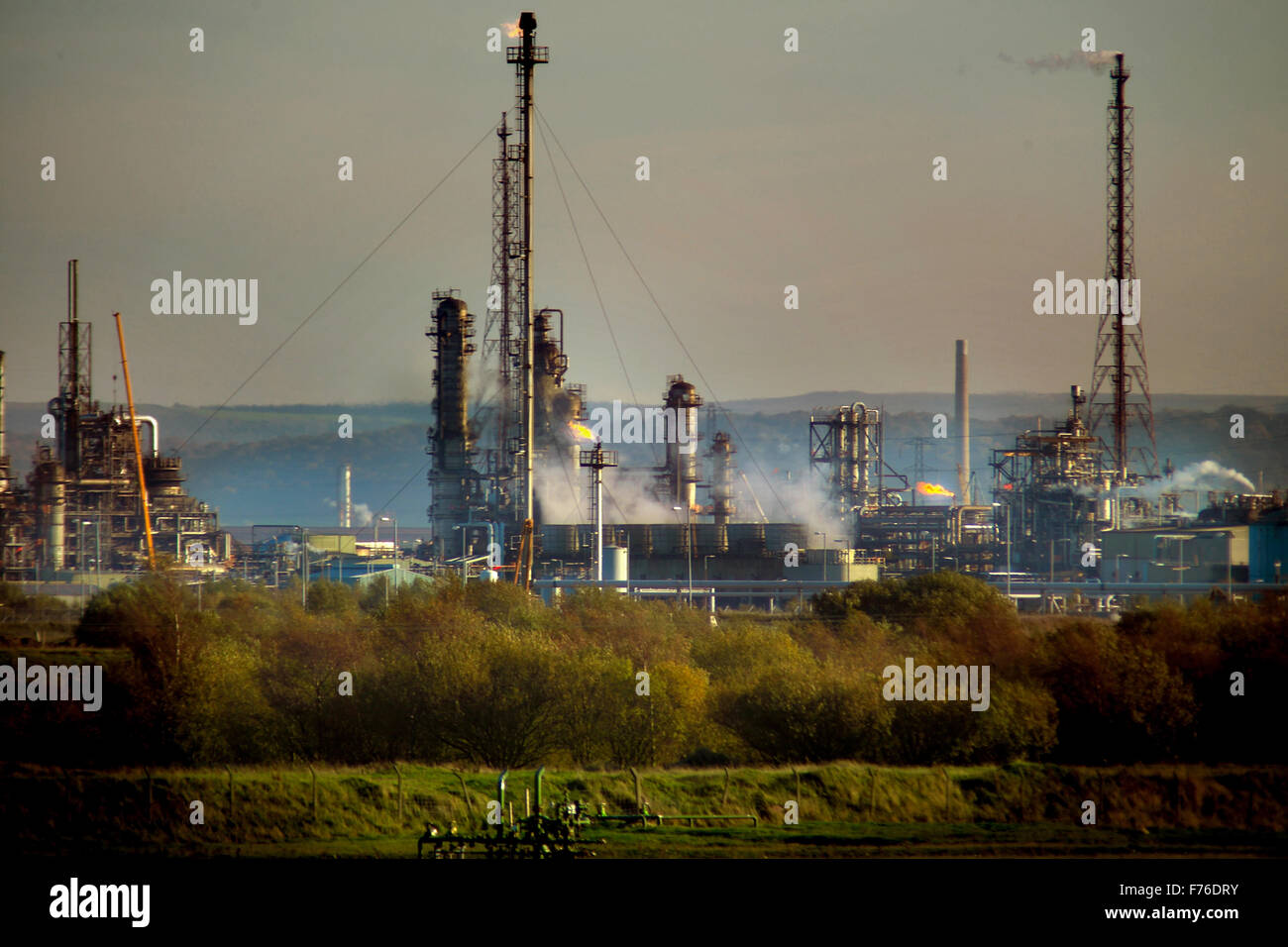 Industrial plant, Teeside - Stock Image