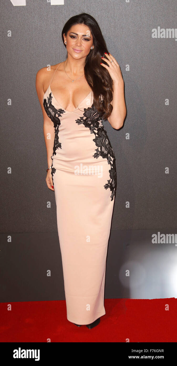 Mar 11, 2015 - London, England, UK - Casey Batchelor attends Insurgent World Premiere, Odeon, Leicester Square - Stock Image