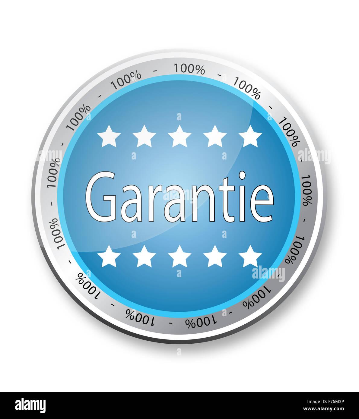 Garantie - Stock Image