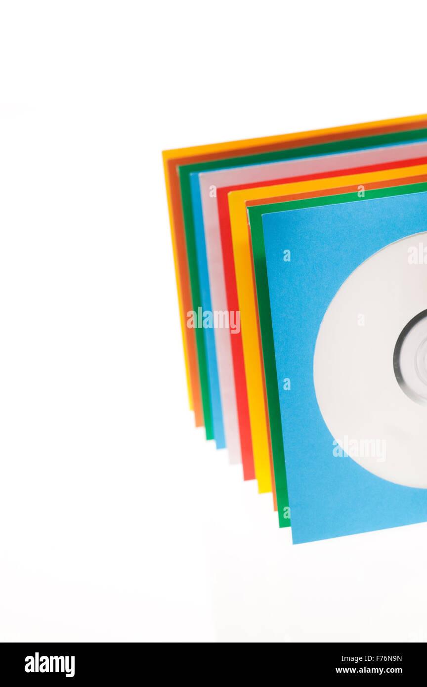 Disc sleeves Stock Photo