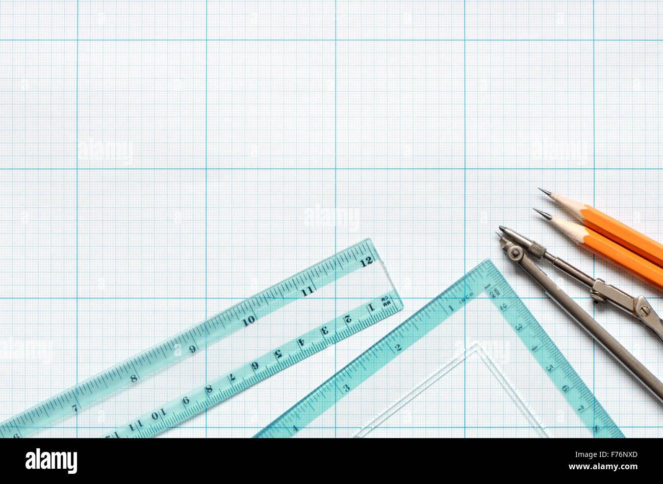 Draftsmanship - Stock Image
