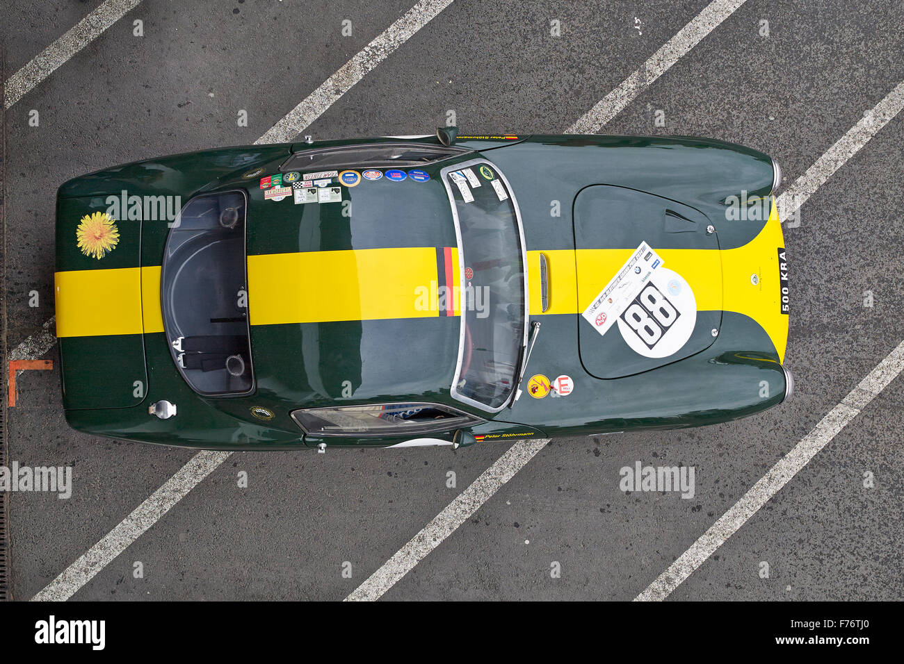 Lotus Elite,1959,woseater racing cars and GT up to  1961, 42.AvD Oldtimer-Grand-Prix 2014 Nürburgring - Stock Image