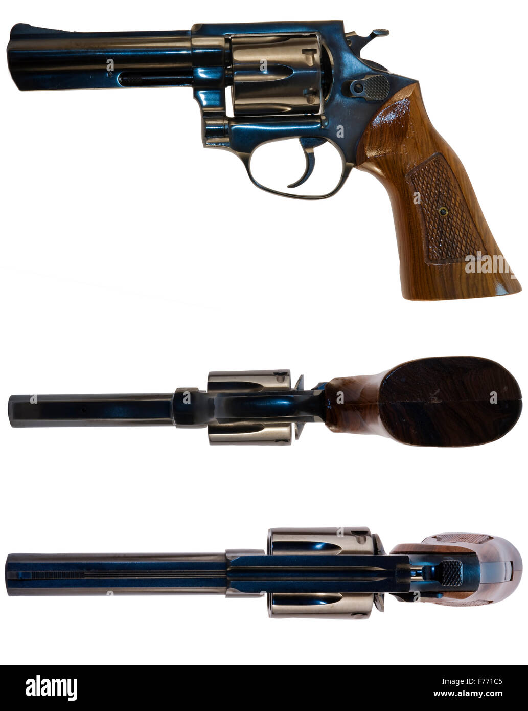Three Guns for the Price of One - Stock Image