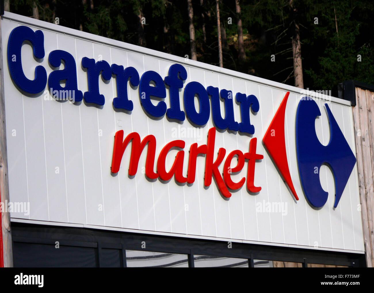 Carrefour Logo Stock Photos Carrefour Logo Stock Images