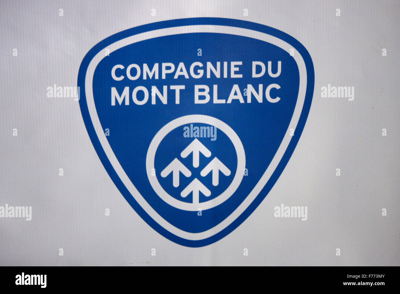Logo Mont Blanc Stock Photos Logo Mont Blanc Stock Images Alamy