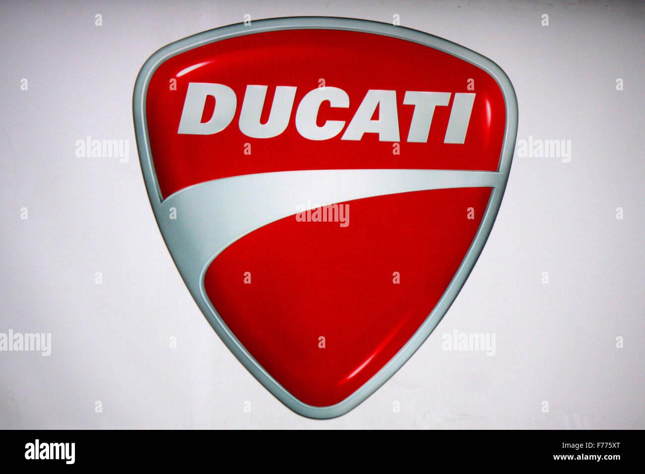 Markennamen: 'Ducati', Landeck, Oesterreich. - Stock Image