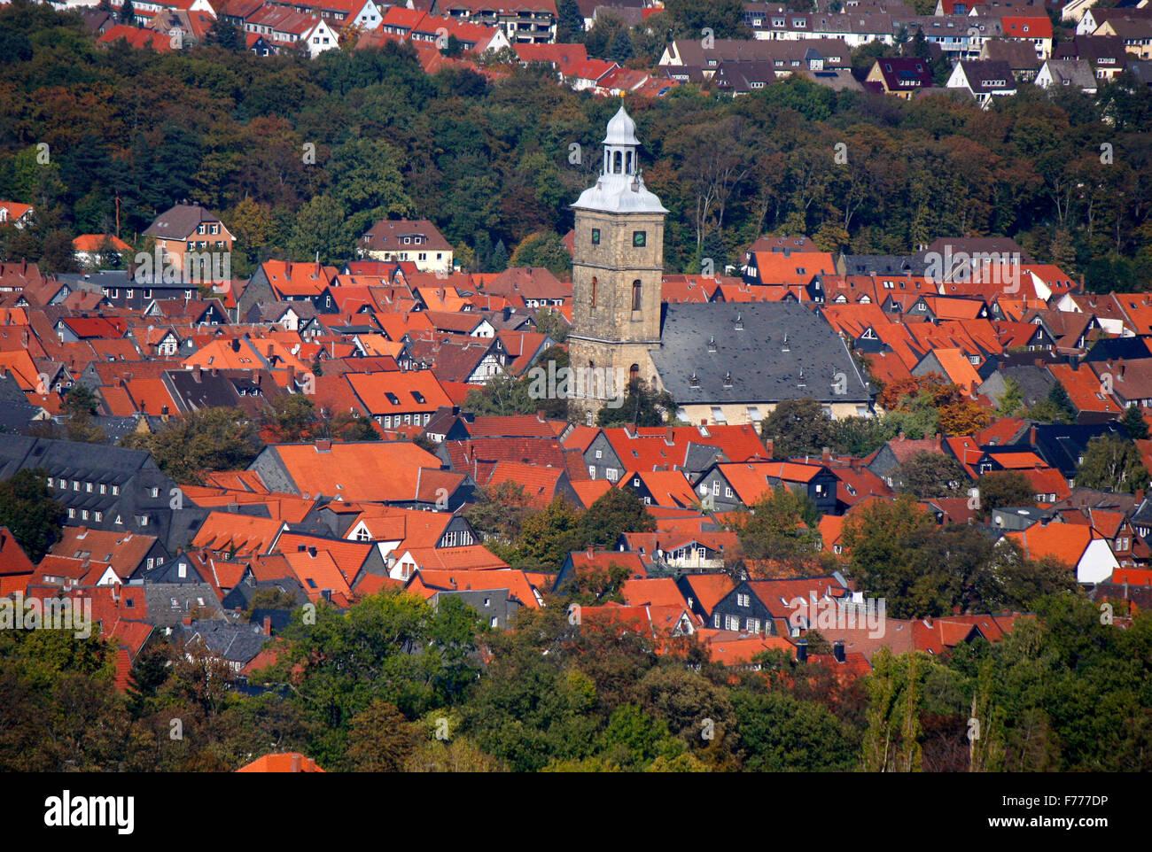 Luftbild: Goslar . - Stock Image