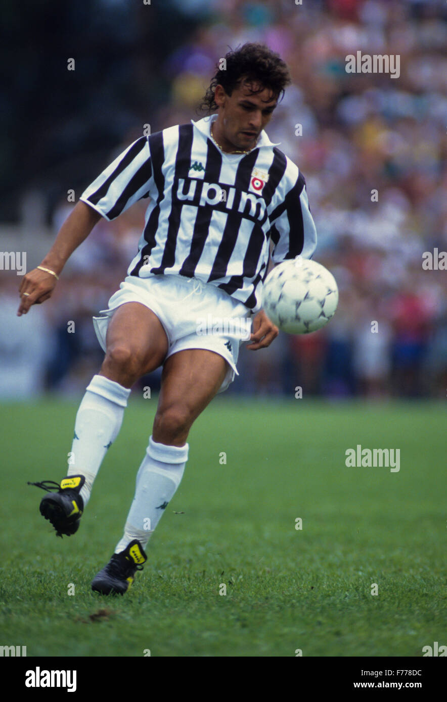 roberto baggio,1995 - Stock Image
