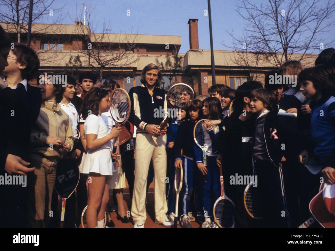bjorn borg,1978 - Stock Image