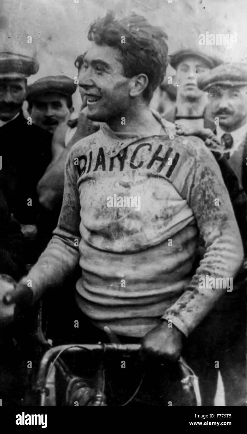 lauro bordin,giro di lombardia 1914 - Stock Image
