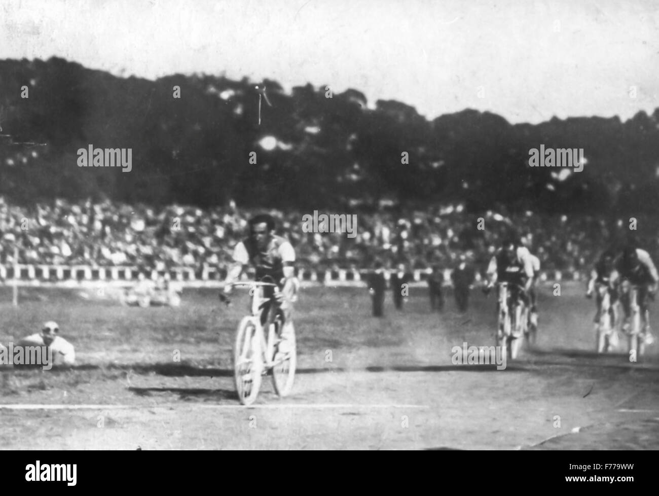 giro d'italia 1919,arena di milano - Stock Image