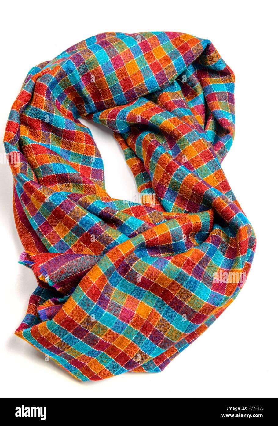 Pashmina antique style shawl - Stock Image