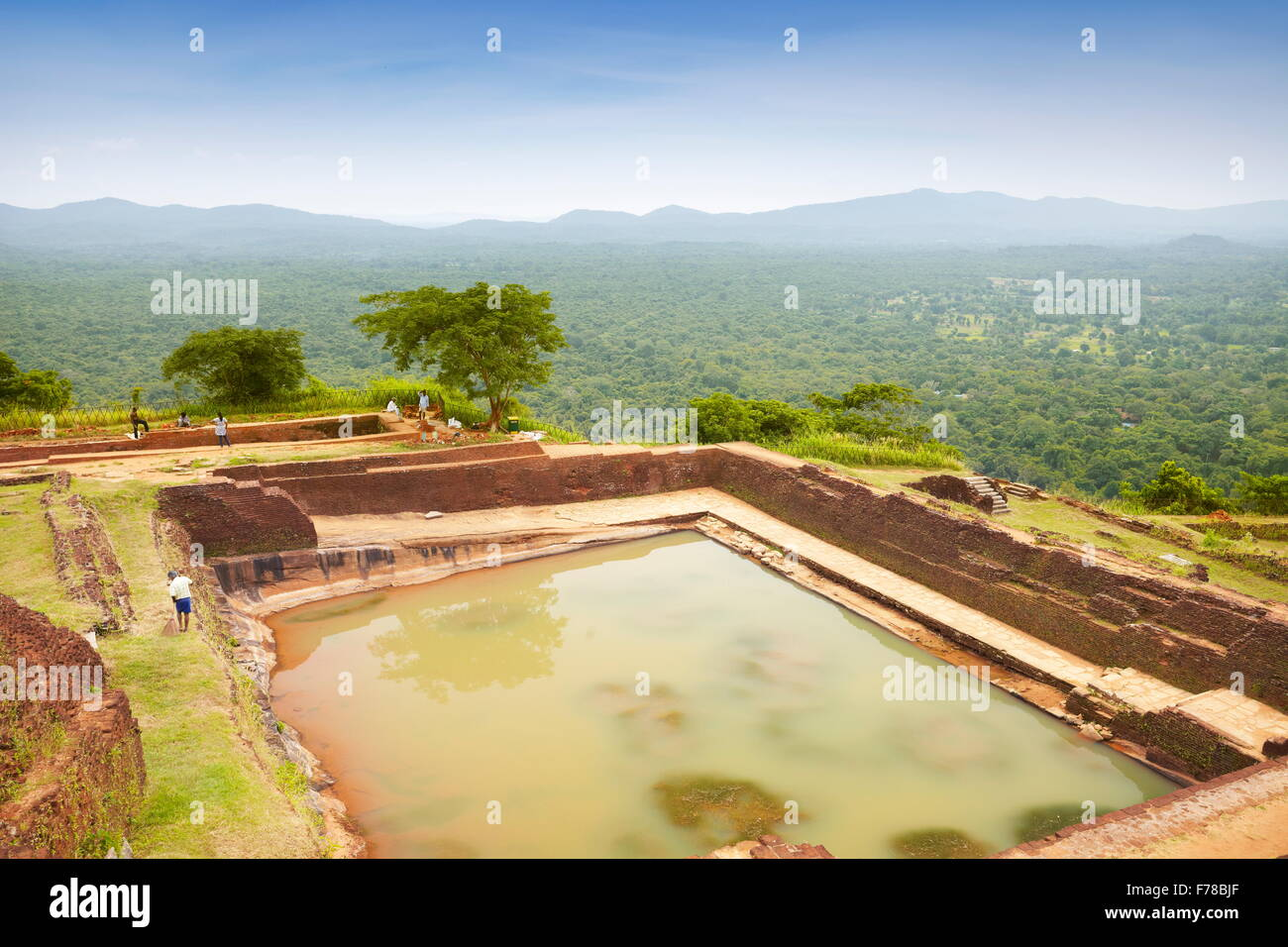 Sri Lanka - Sigiriya, ancient fortress, UNESCO World Heritage Site - Stock Image