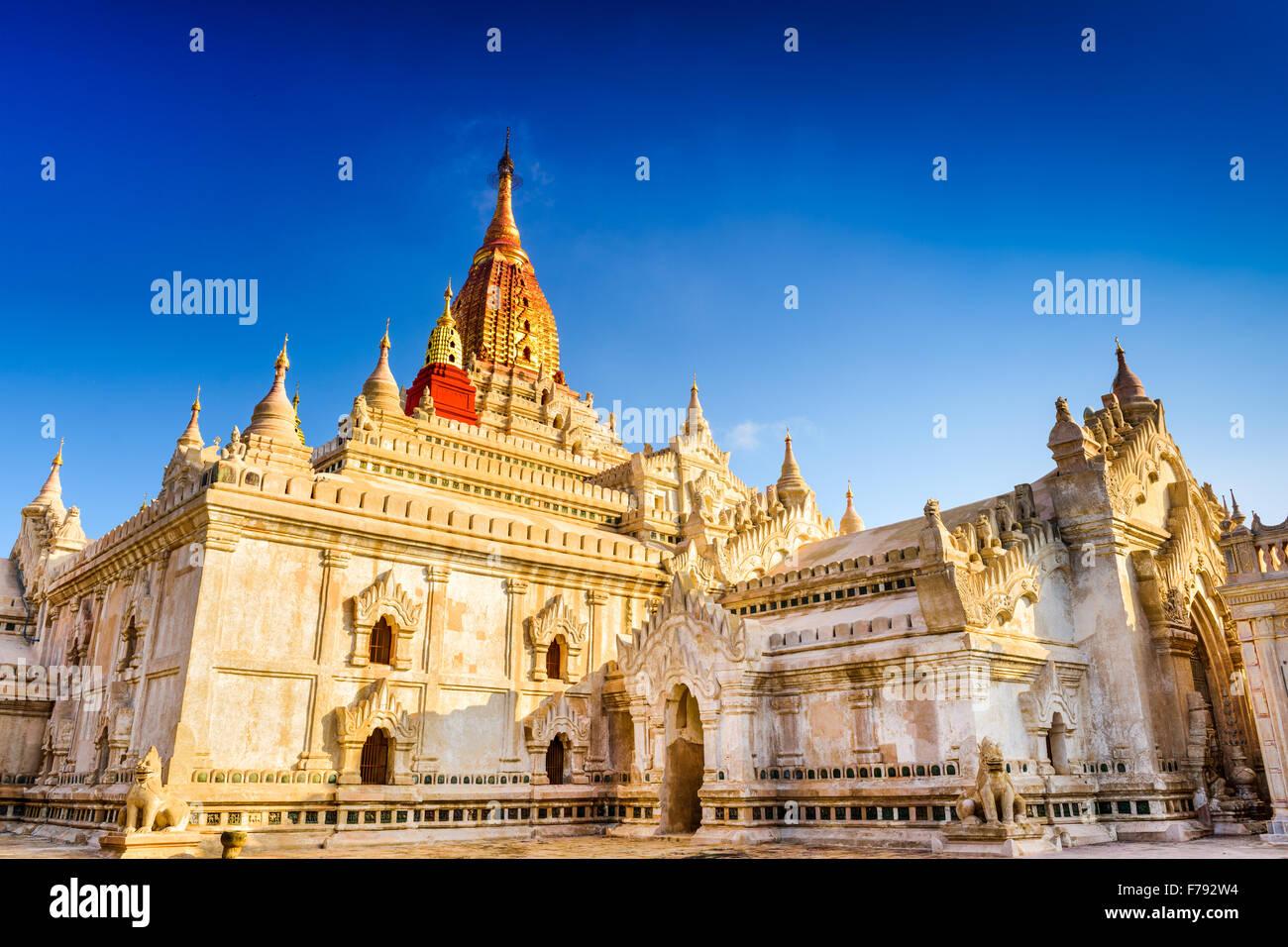Bagan, Myanmar at Ananda Temple. - Stock Image