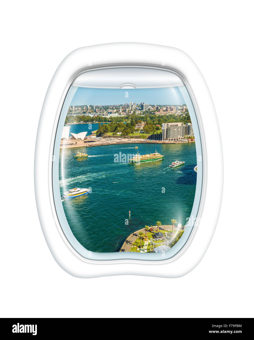 Sydney aerial view - Stock Image