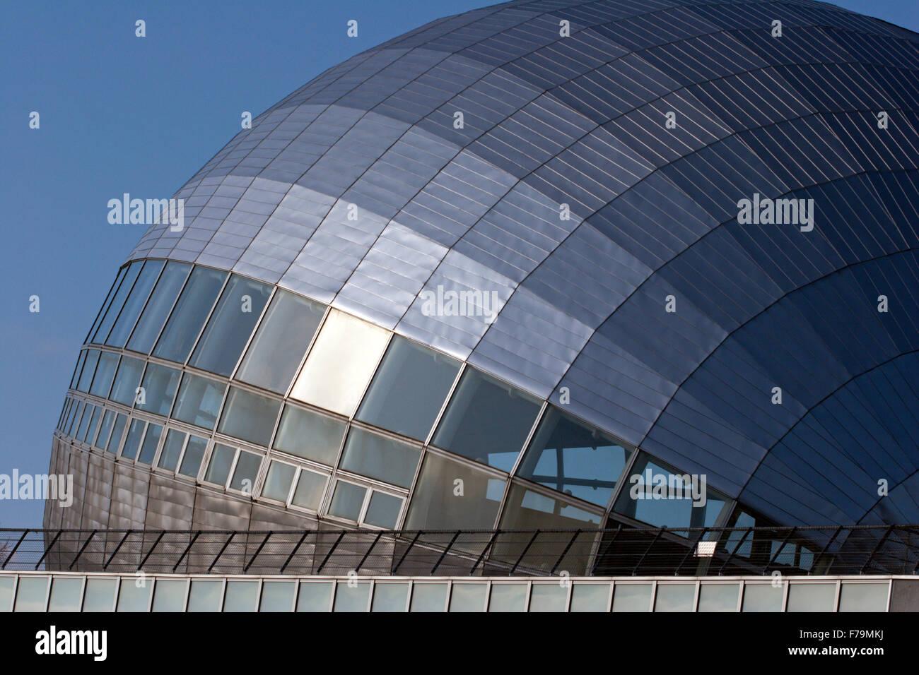 space age building Japan futuristic design Stock Photo