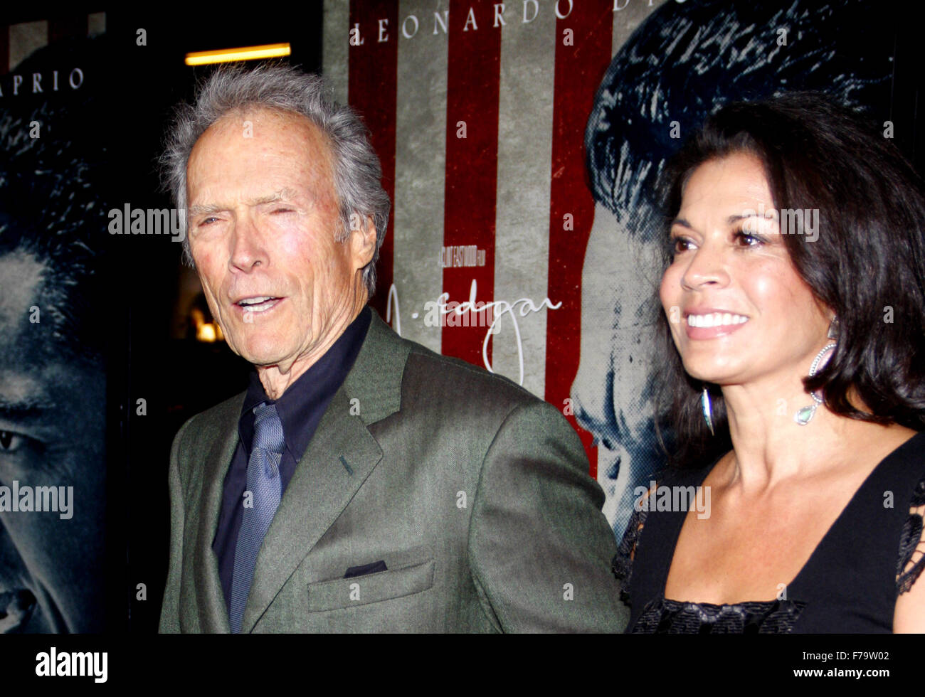 Clint Eastwood at the AFI Fest 2011 Opening Night Gala World Premiere Of 'J. Edgar' held at Grauman's - Stock Image