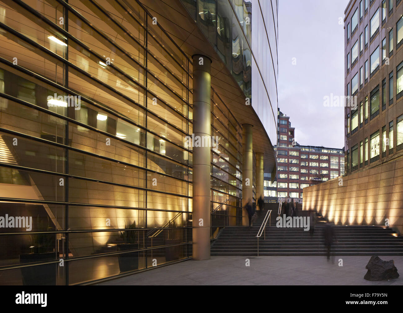 Public Space, Broadgate London 2012 - Stock Image