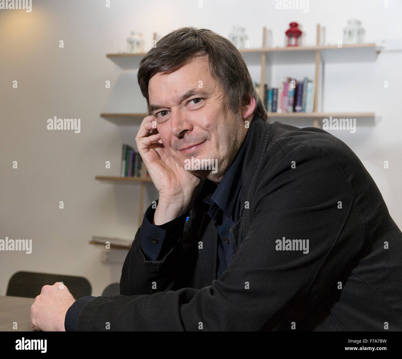 Ian James Rankin, OBE, DL, FRSE, Scottish crime writer, best known for his Inspector Rebus novels - Stock Image
