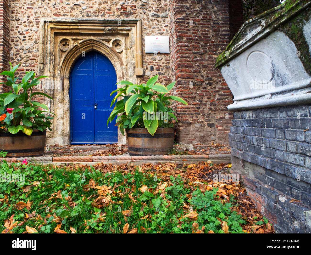 St Martins Church West Stockwell Street Colchester Essex England - Stock Image