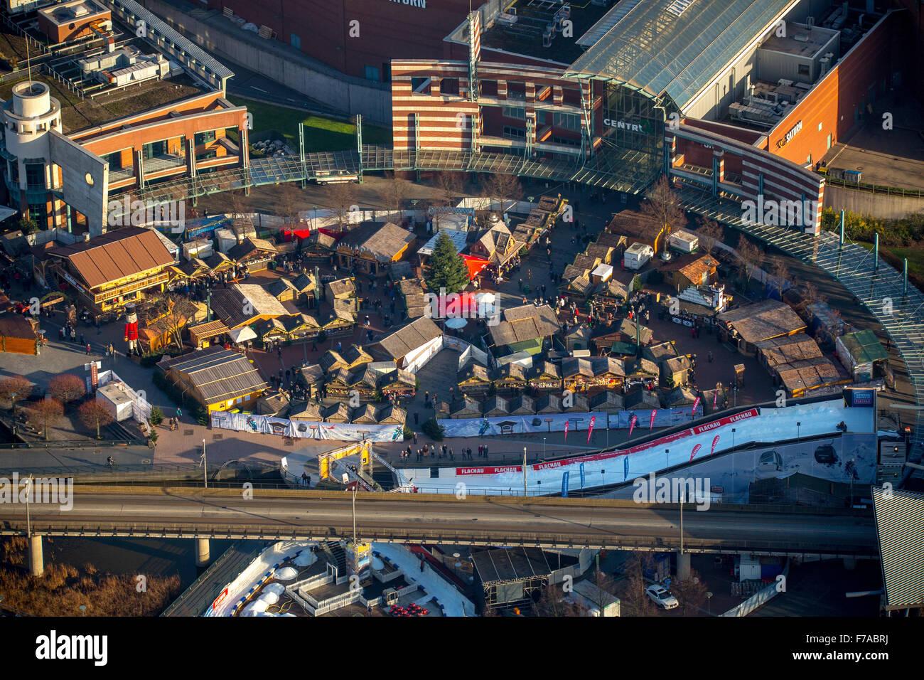 Christmas Market At The Centro Oberhausen Oberhausen Ruhr