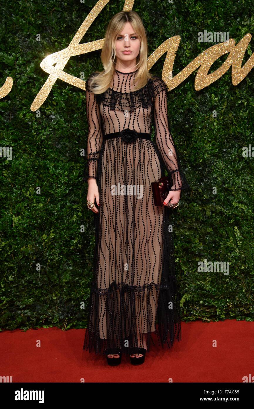 Georgia May Jagger at the British Fashion Awards 2015 in London - Stock Image