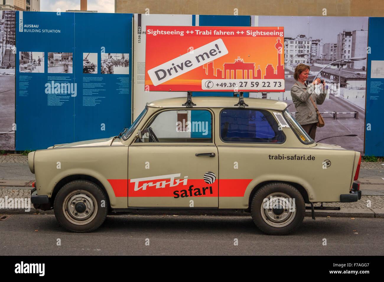 Berlin Trabant - Stock Image