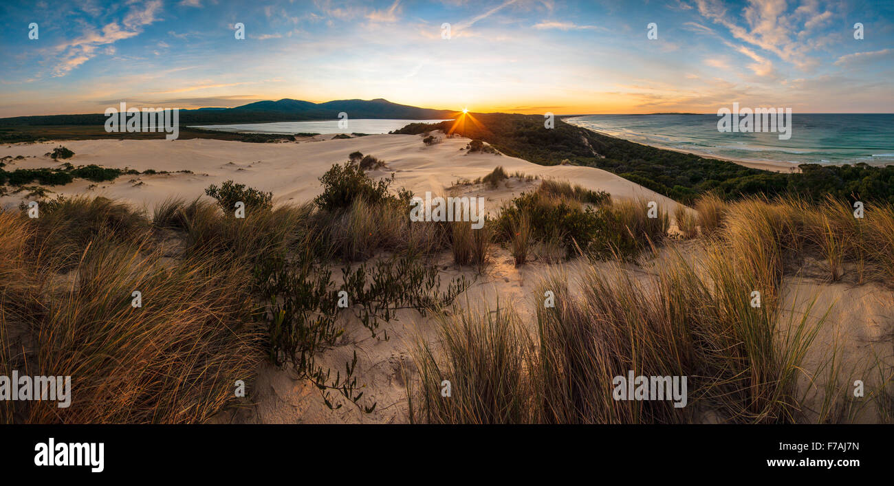 Lake Barracoota Sunrise - Stock Image