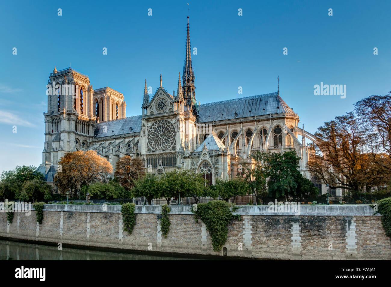 Notre Dame, Paris France - Stock Image