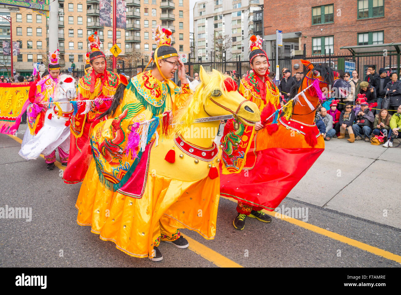 Chinese New Year Parade, Year of the Horse - Stock Image