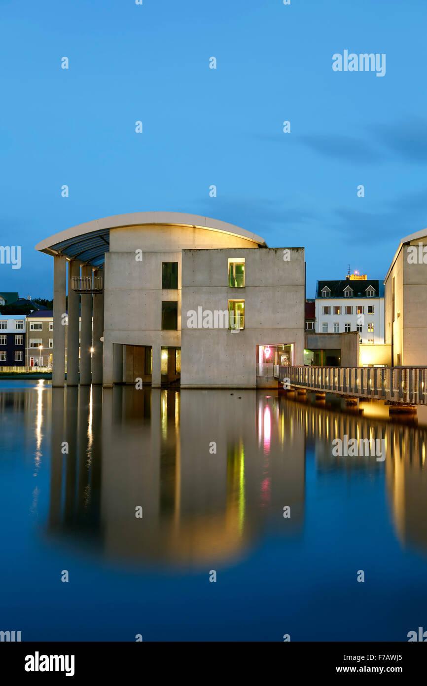 Reykjavik City Hall, Reykjavik, Iceland - Stock Image