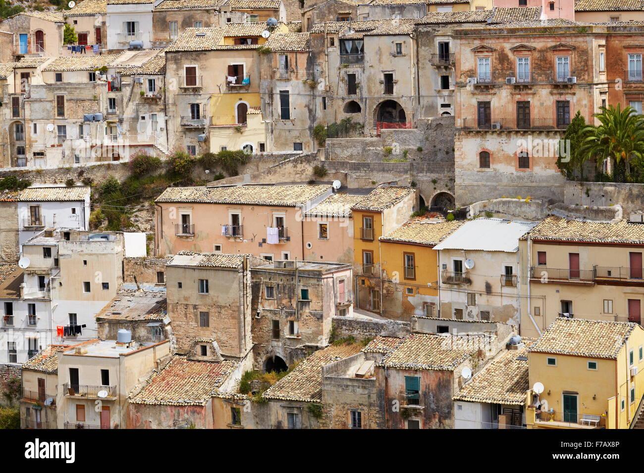 Ragusa Ibla (Lower Town), Sicily (Sicilia), Italy UNESCO - Stock Image