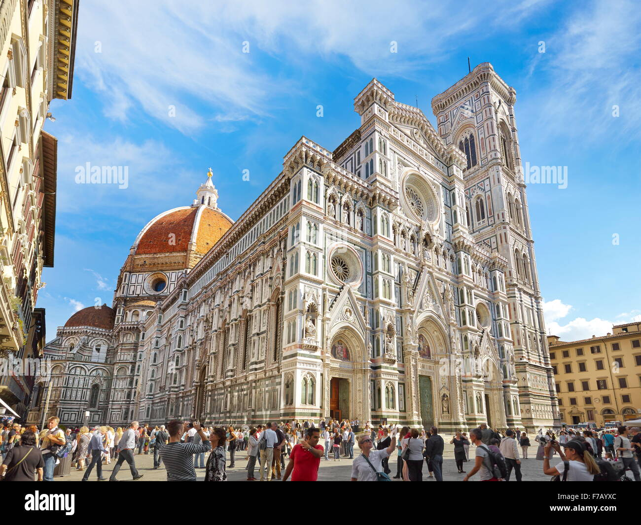 Cathedral of Santa Maria del Fiore, Florence, Tuscany, Italy - Stock Image