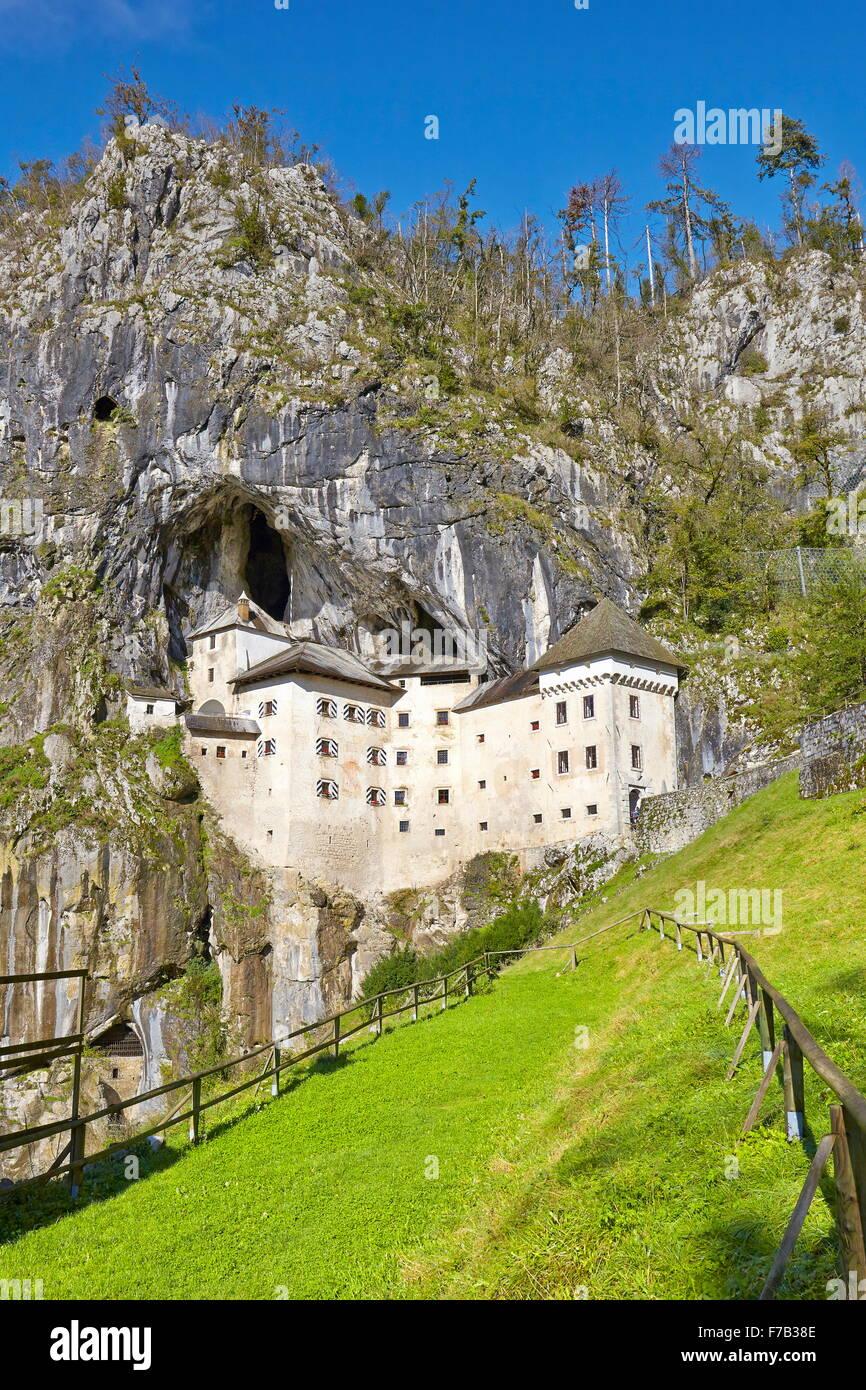 Predjamski grad, Slovenia - Stock Image