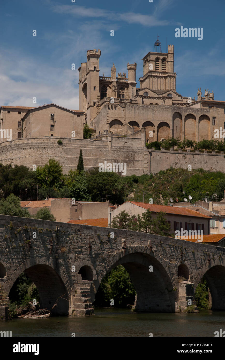 Beziers, Languedoc, France - Stock Image