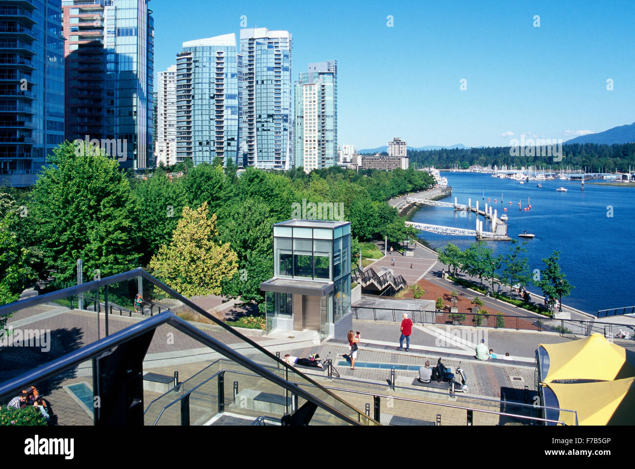 Harbour Green Park Vancouver Stock Photos Amp Harbour Green